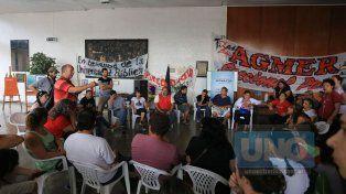 Agmer Paraná podría volver a tomar el CGE si no se devuelven los descuentos