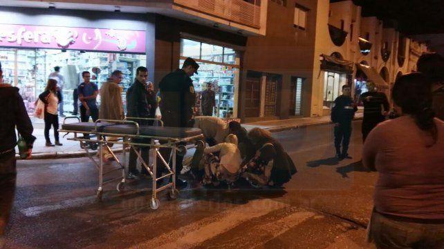 Un hombre fue atropellado en el centro de Paraná