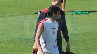 Martín Galli había recuperado la titularidad desde la llegada de Pancaldo a Atlético Paraná.
