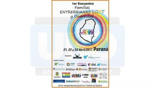 Se realizará en Paraná el primer encuentro de familias entrerrianas LGTB