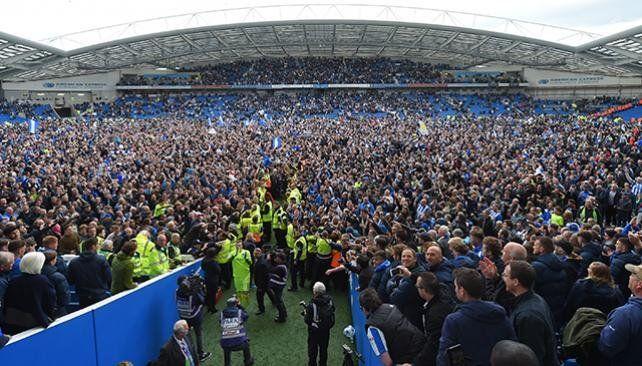 El Brighton jugará la Premier League por primera vez en su historia