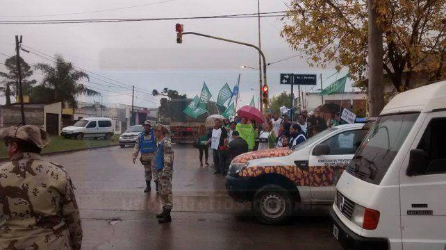 Fuerte operativo de seguridad impide manifestaciones contra Macri