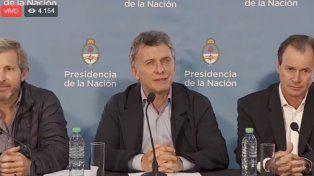 VIVO Conferencia de Prensa de Macri