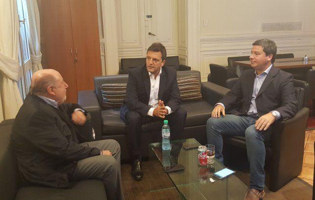 Busti y Massa hablaron sobre estrategias electorales