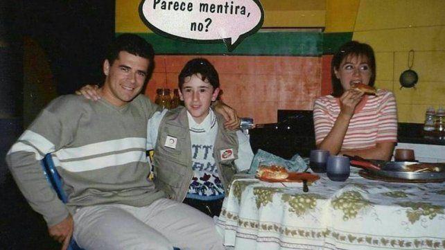 Julián Weich, con el hombre al que le cumplió el sueño hace 21 años