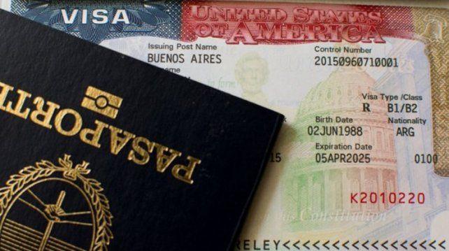 Los argentinos podrán tramitar la visa a EEUU en un solo día