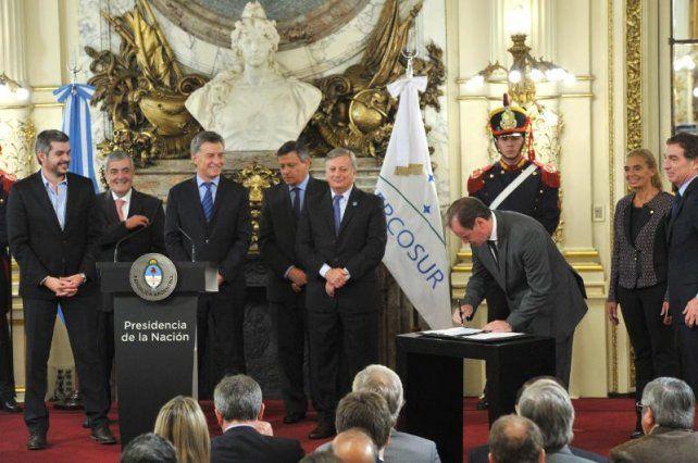 Bordet destacó la importancia del Acuerdo Federal de Energía