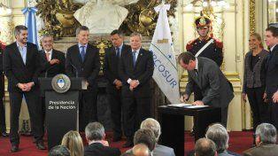 Bordet destacó la importancia del Acuerdo de Energía