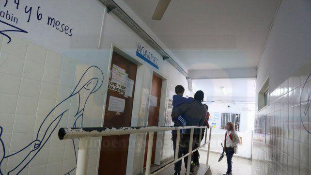 San Roque. La demanda de vacunación antigripal es alta y atienden desde las 7 hasta a las 17.