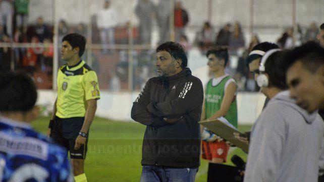 Pancaldo habló de la derrota en Mataderos y apuntó contra el árbitro Pablo Chavarría.