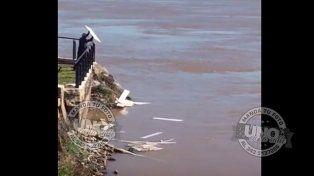 Así ensucian el río Paraná