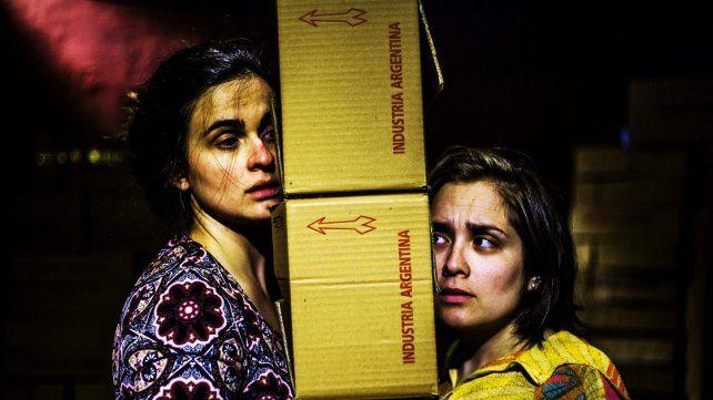 Protagonistas. Las actrices Tati Paulini y Marisa Grassi dan vida a estas hermanas.