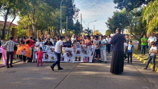 Santa Elena marchó por Gisela López y pidió penas ejemplares para los femicidas
