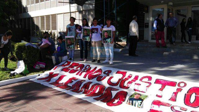 Pidieron celeridad en la elevación a juicio por el crimen de Leandro Escuri