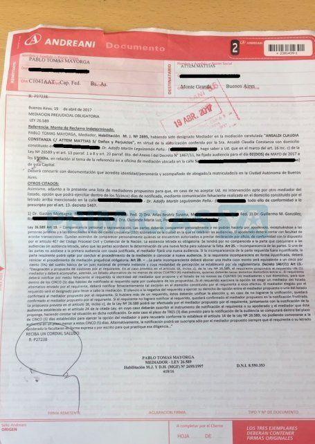 Matías Attem tras recibir una carta documento de Connie Ansaldi: Reconozco que lo que hice estuvo mal