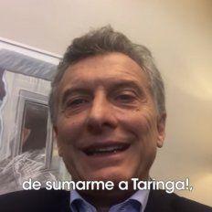 Mauricio Macri creó un perfil en Taringa y debutó con un video