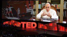 en una charla ted, el papa francisco pidio humildad a los mas poderosos