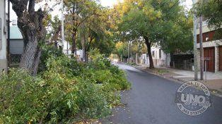 Agua servida y contaminación en el barrio CGT