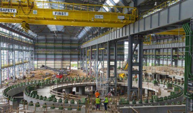 La Planta que posee la empresa argentina Tenaris en Bay City