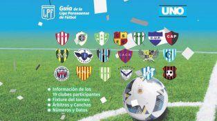 Conseguí tu Suplemento de la Liga Paranaense de Fútbol 2017