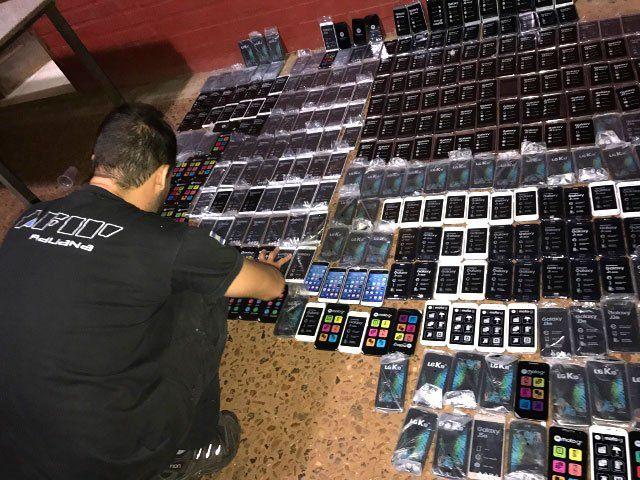 Industria ilegal. Por el robo de los celulares