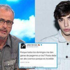 Jorge Rial trató de pendejo de mierd... a Julián Serrano y estallaron las redes