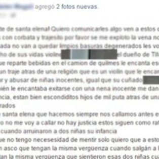 Una joven escrachó a dos testigos de Jehová por abuso