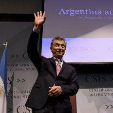 En una conferencia en Washington, Macri prometió abrir más la economía
