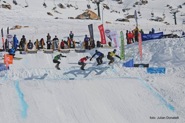 Más de 2.000 personas se reunirán en torno a la Copa del Mundo de Snowboard Cross.
