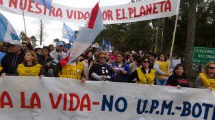 Ambientalistas de Gualeguaychú marchan este domingo contra las pasteras