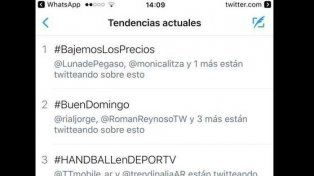 #BajemosLosPrecios la propuesta de Sergio Massa y Margarita Stolbizer, trending topic en Argentina
