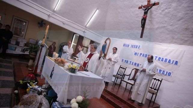 La misa del trabajo se realizó este 1º de Mayo en Anacleto Medina