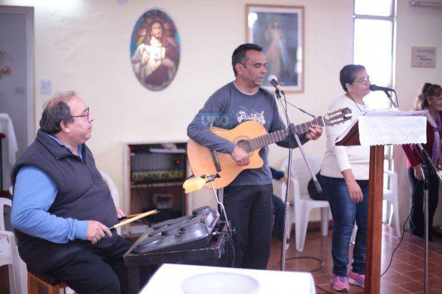 Músicos. FotoUNOJuan Ignacio Pereira.