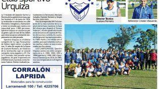 Sportivo Urquiza, uno de lo más populares de la Liga Paranaense de Fútbol