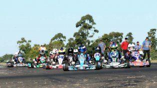 Fue un fin de semana a puro karting en el circuito del Club de Volantes Entrerrianos.