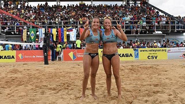 La deportista nacida en Nogoyá y un nuevo cetro internacional dentro de su carrera en el deporte playero.