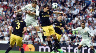 Real Madrid goleó al equipo de Simeone y tiene un pie en la final
