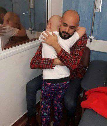 Anto González cumplió su sueño y conoció a Abel Pintos