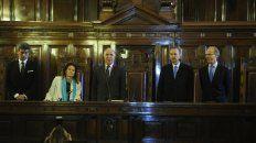 Votos. Highton, Rosenkrantz y Rosatti -los dos últimos en ingresar al cuerpo- avalaron el dictamen.