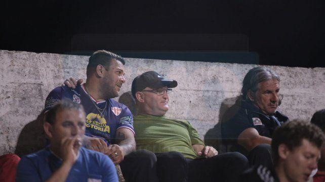 Cervilla observó varios encuentros de Atlético desde la platea del estadio Mutio.