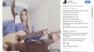 Maluma se enamoró de una cantante entrerriana