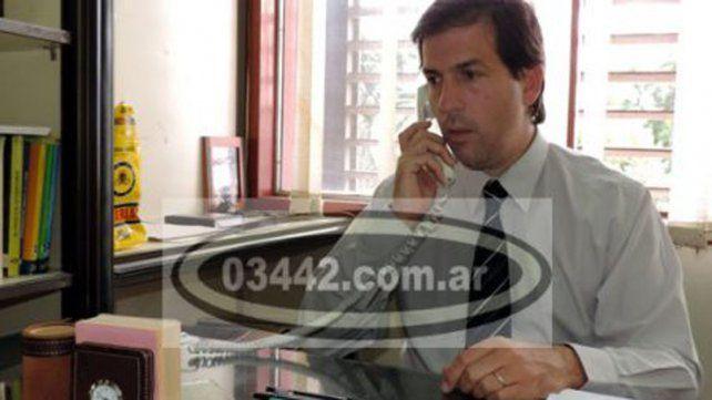 El fiscal Fernando Martínez Uncal