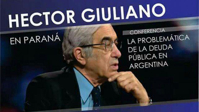 Hoy habrá una conferencia sobre La problemática de la Deuda Pública en Argentina