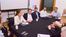 Reunión. El encuentro se desarrolló en la Casa de la Costa, en el Puerto Nuevo de Paraná.