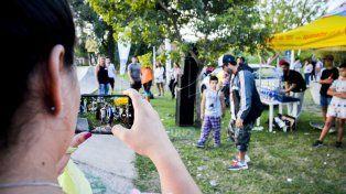 Video de Rap. Foto UNO Mateo Oviedo.