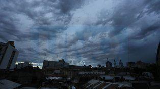 Rige un alerta por tormentas severas y granizo para Entre Ríos