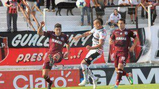 Fernando Telechea no gozó de situaciones propicias frente a la valla visitante.