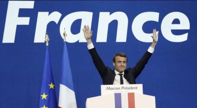 Macron derrotó a la ultraderecha.