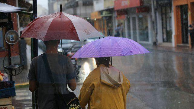 Rige un alerta meteorológico para Entre Ríos