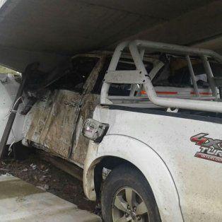 Un hombre murió luego de chocar con su camioneta contra una garita